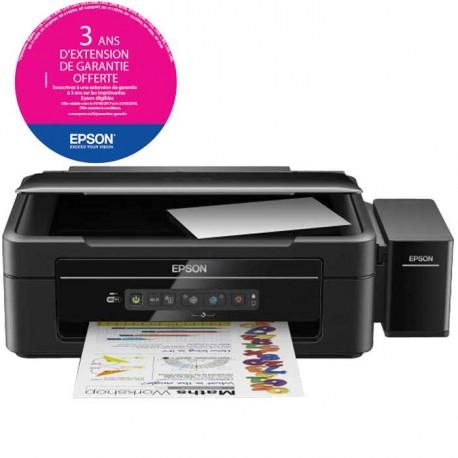 Imprimante Jet d'encre EPSON L386 3en1 Couleur - Wifi