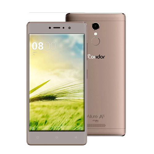 "Smartphone CONDOR ALLURE A8 - 5.5"" - 4G - Double SIM - Marron"