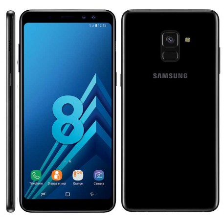 Smartphone SAMSUNG GALAXY A8 (2018) - Noir
