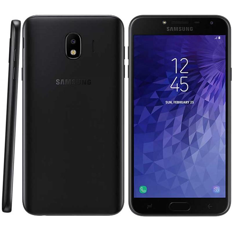 TÉLÉPHONE PORTABLE SAMSUNG GALAXY J4 2018 / 4G / DOUBLE SIM / NOIR + SIM OFFERTE