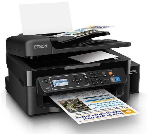 Imprimante Epson L565 Multifonction couleur 4en1 à réservoir intégré + 1 Bouteille d'encre Offerte