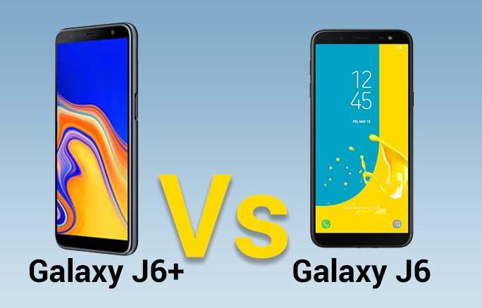 Galaxy j6 plus vs j6
