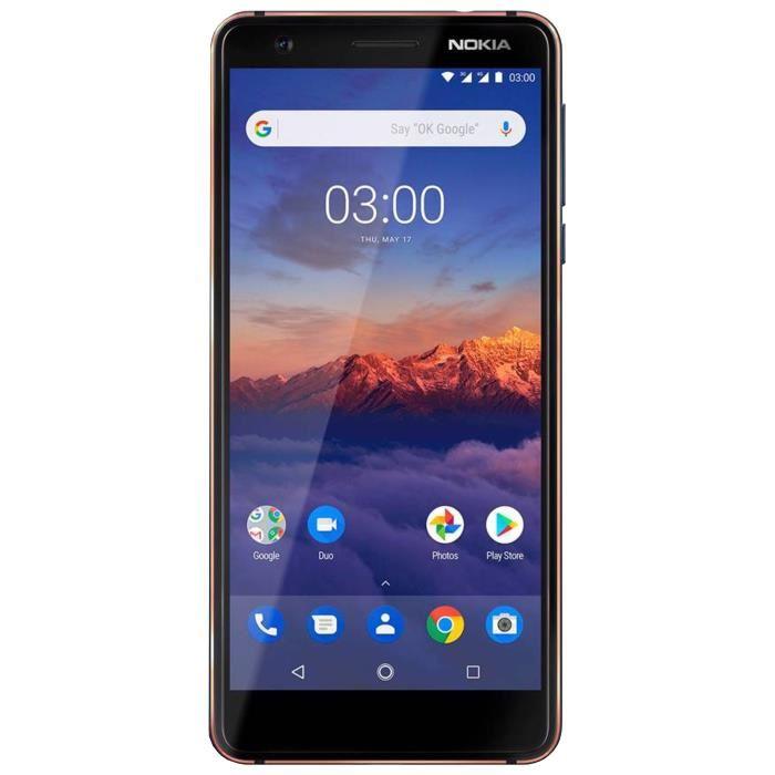 Smartphone NOKIA 3 2018 16Go 4G Bleu
