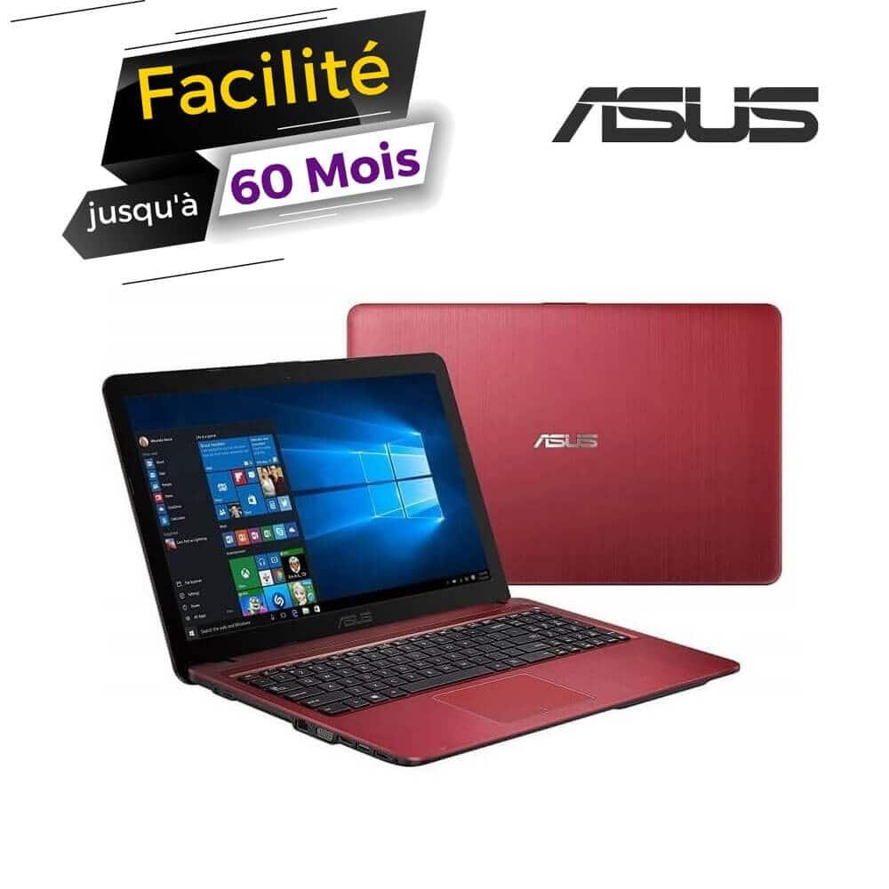 PC Portable ASUS VivoBook i3 6è Gén- 4Go - 500Go - Rouge
