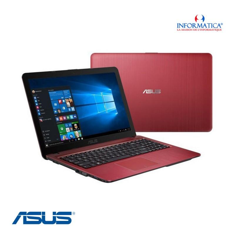 Pc Portable ASUS VIVOBOOK MAX X541UA i3 6ème Gén 4Go 500Go : Rouge